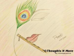 KrishnaSketch-Thoughts